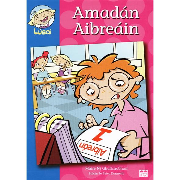 Amadán Aibreáin (Sraith Lúsaí)